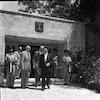 משלחת אצל דוד בן גוריון ונשיא המדינה יצחק בן צבי – הספרייה הלאומית