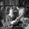 בבית הנשיא יצחק בן צבי – הספרייה הלאומית