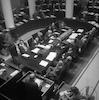 דוד בן גוריון מקים ממשלה חדשה – הספרייה הלאומית