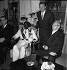 הנשיא יצחק בן צבי מארח את מלך בורונדי – הספרייה הלאומית