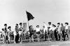 """מפקד סיום ביה""""ס נמלה ולהבה מפקד מסירת הדגל – הספרייה הלאומית"""