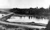 גשר הכלונסאות על מוצא הירדן – הספרייה הלאומית