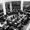 הכנסת וממשלת משה שרת – הספרייה הלאומית