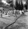 שריפה בקיבוץ ליד כפר אתא – הספרייה הלאומית