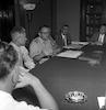 גנרל ברנס מסיבת עיתונאים – הספרייה הלאומית