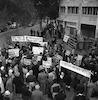 Communist Demonstration against Germany's Rearmament – הספרייה הלאומית