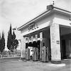 תחנת דלק SHELL – הספרייה הלאומית