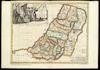 Geographiae Sacrae, Tabula in qua Terra Promissa in suas Tribus Partesq. distincta.;Autore N.Sanson Abbavillaeo. A. de Winter sc – הספרייה הלאומית
