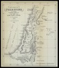 Boundary of Palestine according to Numbers XXXIV 1-15; By Joseph Schwarz of Jerusalem 5607; T. Sinclair's lith. 5610 – הספרייה הלאומית