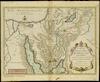 Carte du voyage et routes de Israelites dans le desert depuis leur sortie de l'Egypte jusqu'au passage du Jourdain;Dressee et Gravee sur le Plan de l'Auteur par P.Starck-man – הספרייה הלאומית