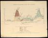 Diagram of the elevation of Egypt, Sinai & Palestine