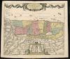 Generaale Kaart van het Beloofde Land tot verlichting voor de Geschiedenisse Vervat in den Bybel – הספרייה הלאומית