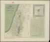 """מפת ארץ ישראל נחקרה ומדויקה היטיב;מאת אפרים גראווער. התרנ""""ט – הספרייה הלאומית"""