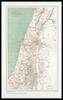Carte de la Palestine et de la région méridionale du Liban;Gravé par R. Hausermann – הספרייה הלאומית