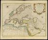 Carte Geographique du Monde Ancien Suivant le Partage des Enfans de Noe;Dressee par le R.P.Dom Augustin Calmet...et Gravee par P. Starck-man. 1721 – הספרייה הלאומית