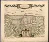Terra Sancta, sive Promissionis, olim Palestina;recens delineata et in lucem edita per Fredericum de Wit – הספרייה הלאומית
