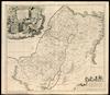 Iudaea Sive Terra Sancta quae Israelitarum in suas duodecim Tribus destincta;Per T.Danckerts – הספרייה הלאומית