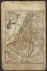 Palestina in XII Tribus divisa;Iohan Michael Probst excudit – הספרייה הלאומית