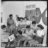 שביתת שבת, ברית הנוער הקומוניסטי, גבעת ברנר – הספרייה הלאומית