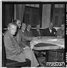 אגודת הסופרים בית ביאליק, ישיבה, 12/1951 – הספרייה הלאומית
