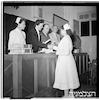 בבית נתן שטראוס, חלוקת תעודות לאחיות, 1949 – הספרייה הלאומית