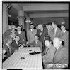 IPO התזמורת הפילהרמונית, ישה חפץ, קבלת פנים בלוד, 4/1953 – הספרייה הלאומית