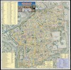"""Jerusalem - The Old City;Editing and publishing """"Ad Or"""" Jerusalem Old City Mapping; Mapping and production: """"Avigdor Orgad - Maps""""; Aerial photography: Ofek Aerial Photography""""."""