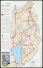 הגולן - מפה למטיילים בגולן
