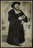 Portrait of cantor: Jehiel-Michel ben Nathan.